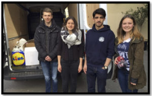 SV Sachspenden Flüchtlinge