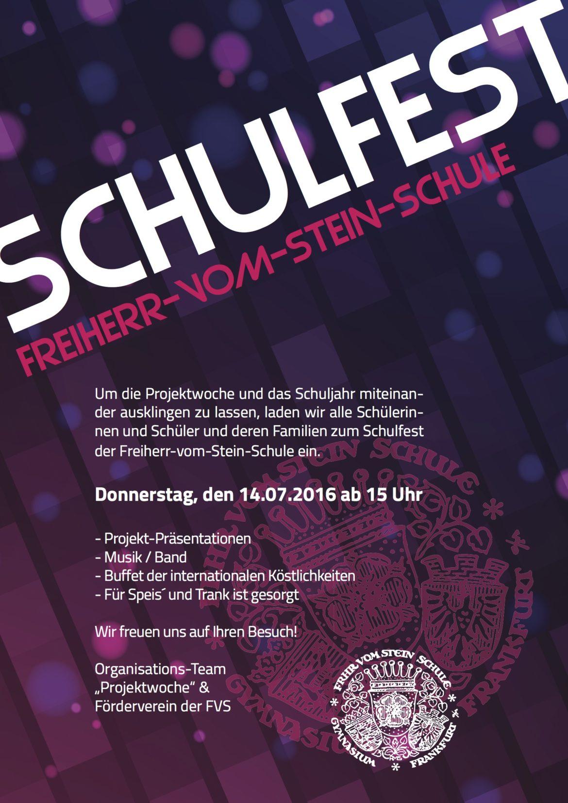 Schulfest - finale Version